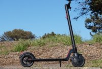 Gotrax GXL Commuter V2 electric scooter in public park