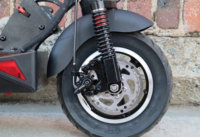Skywalker 10s electric scooter front tire and disc brake