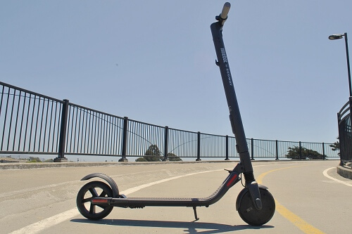 Segway Ninebot ES2 electric scooter unfolded