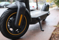 Electric scooter 10 inch pneumatic tires