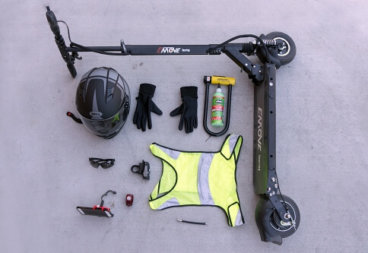 Electric scooter accessories