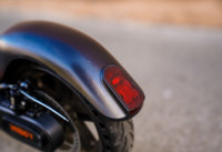 Hiboy Max V2 electric scooter rear fender and taillight close-up