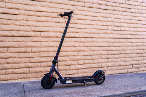 Hiboy S2 Electric Scooter - Full Scooter, Upright