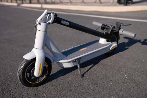Segway Ninebot Max G30LP Electric Scooter - full scooter, folded, front angle
