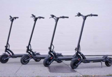 Kaabo Mantis electric scooters - 4 models, full view