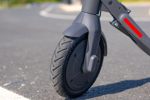Segway Ninebot E22 electric scooter - front tire