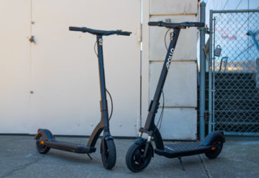 Apollo Air and Air Pro Electric Scooters - side by side product shot