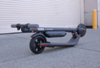 Segway Ninebot ES4 electric scooter - full scooter, folded
